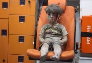 Bambino Salvato - Aleppo - Siria
