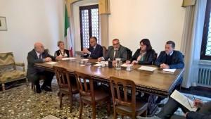 Coneferenza stampa Consiunta Gruppi Centro Sinistra PiùAvantiInsieme e Gruppo Misto 13 10 2016