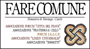 """logo del pregetto """"FARE COMUNE"""""""