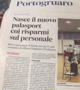 """da """"Il Gazzettino"""" -21-11-2018"""